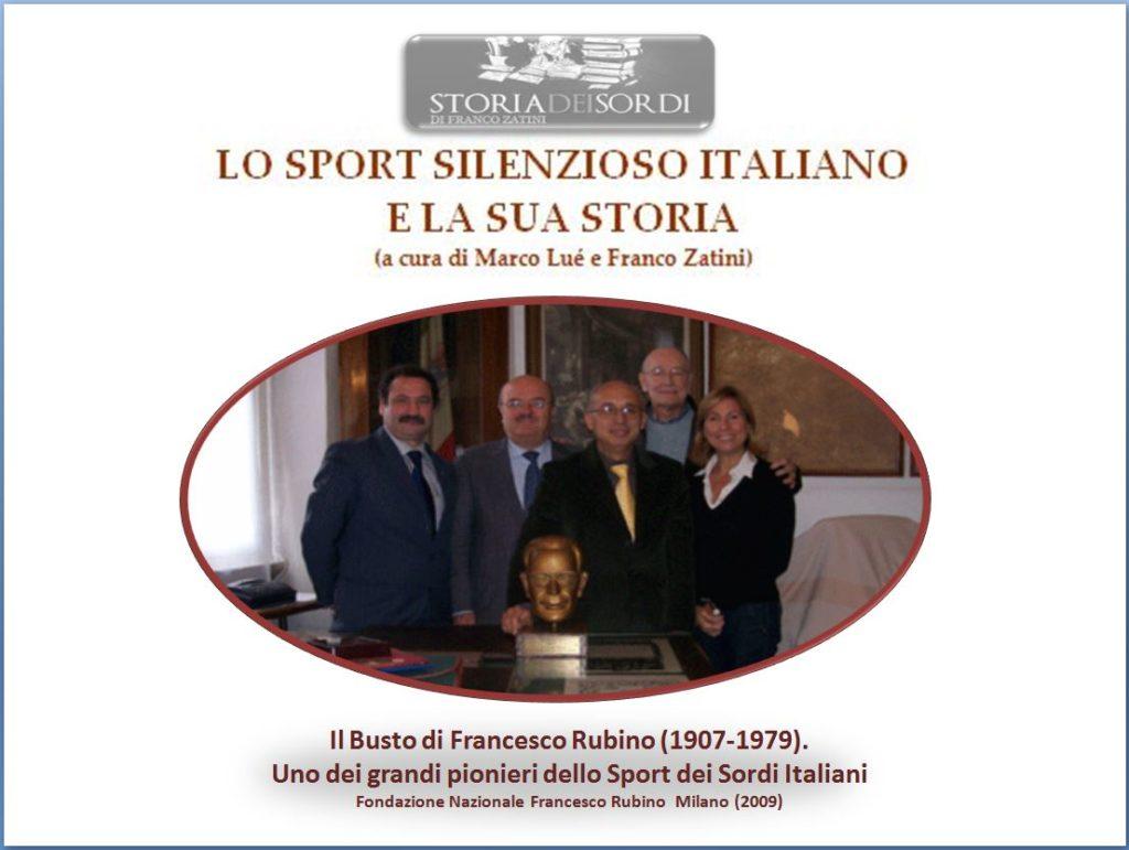 Sport silenzioso Francesco Rubino