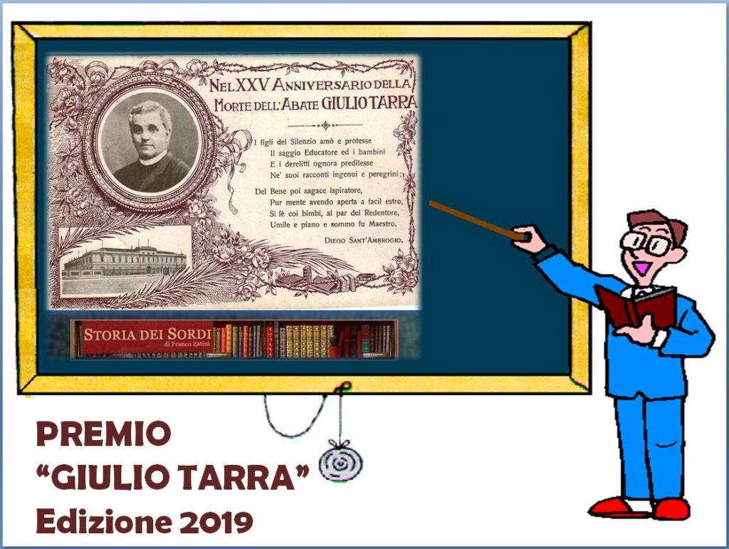 Premio Giulio Tarra 2019