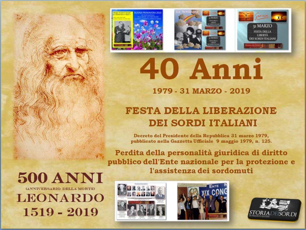 Festa Liberazione dei sordi italiani 2019