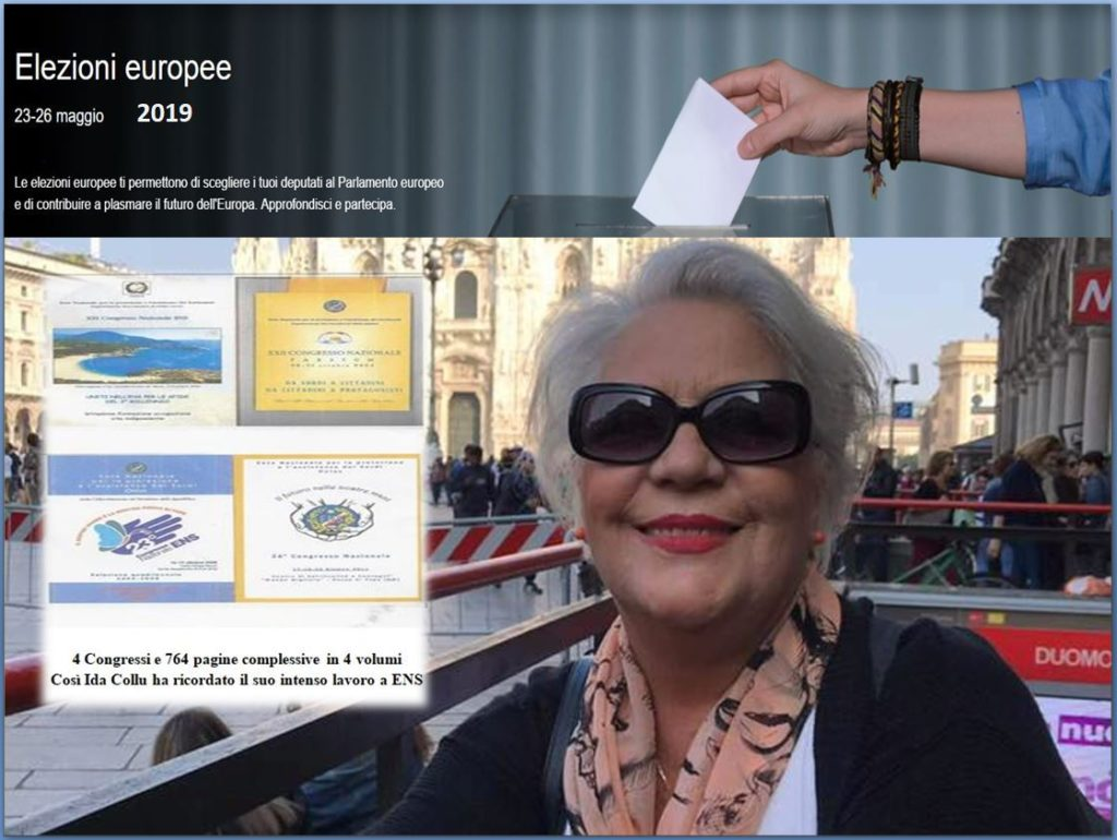 Ida Collu Elezioni europee 2019
