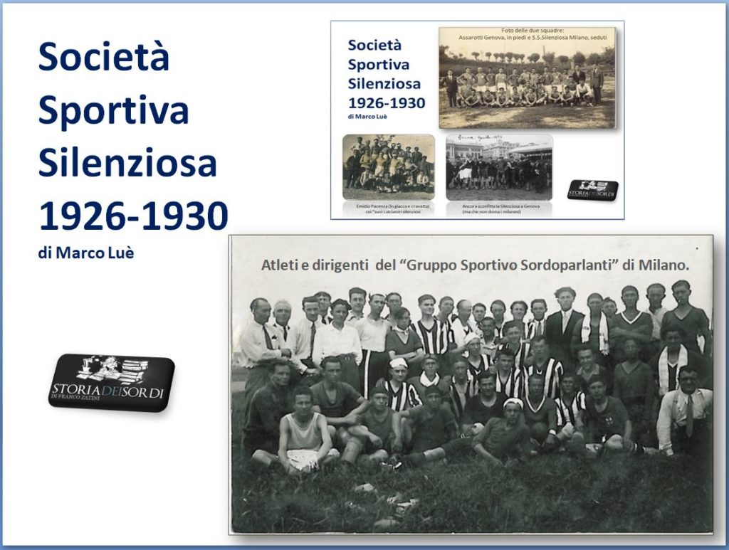 Silenziosa 1926 - 1930 a