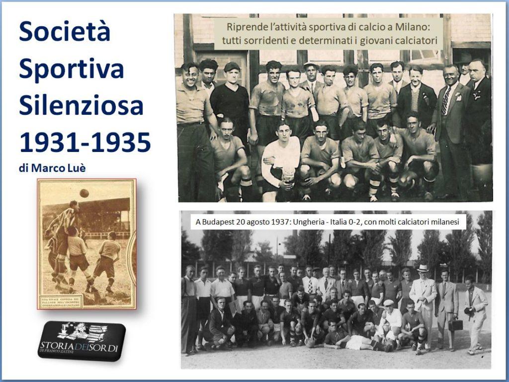 Silenziosa 1931 - 1935