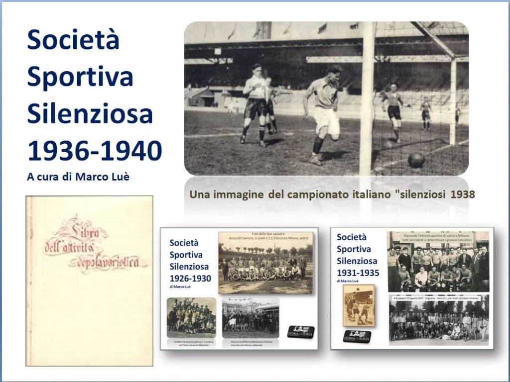 Silenziosa 1936 - 1940