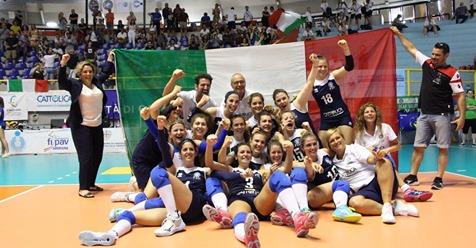 Volley femminile campione europa