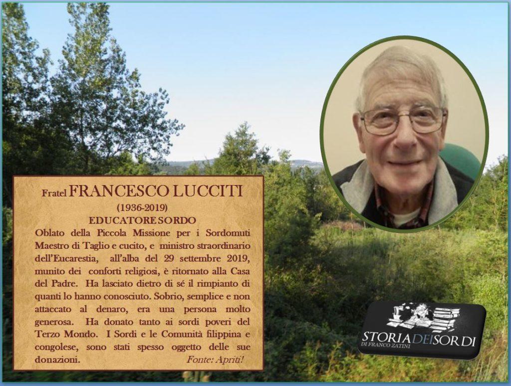 Lucciti Francesco 1936-2019