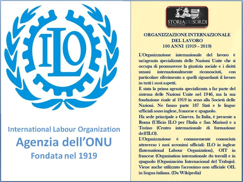 Ilo International Labour Organization