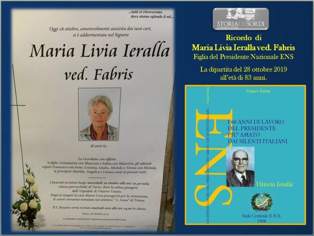 Maria Livia Ieralla + 2019