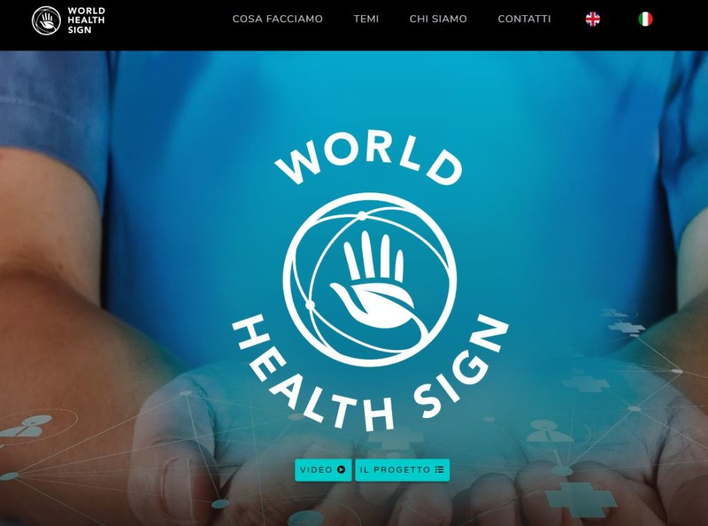 world health sign