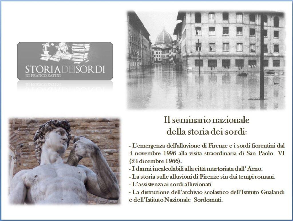 Seminario su Alluvione Firenze