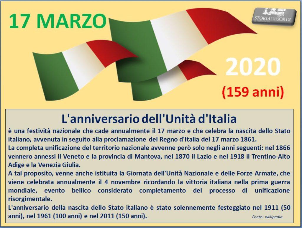 Unita d'Italia 2020