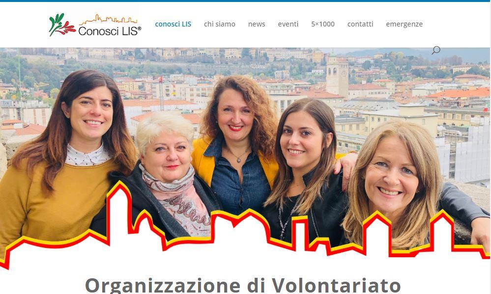 Conosci Lis Associazione di volontariato Bergamo