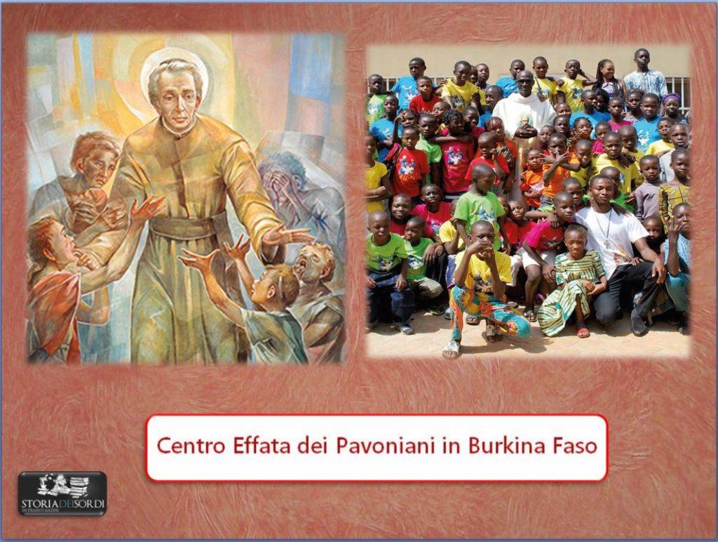 Centro Effata dei Pavoniani in Burkina Faso
