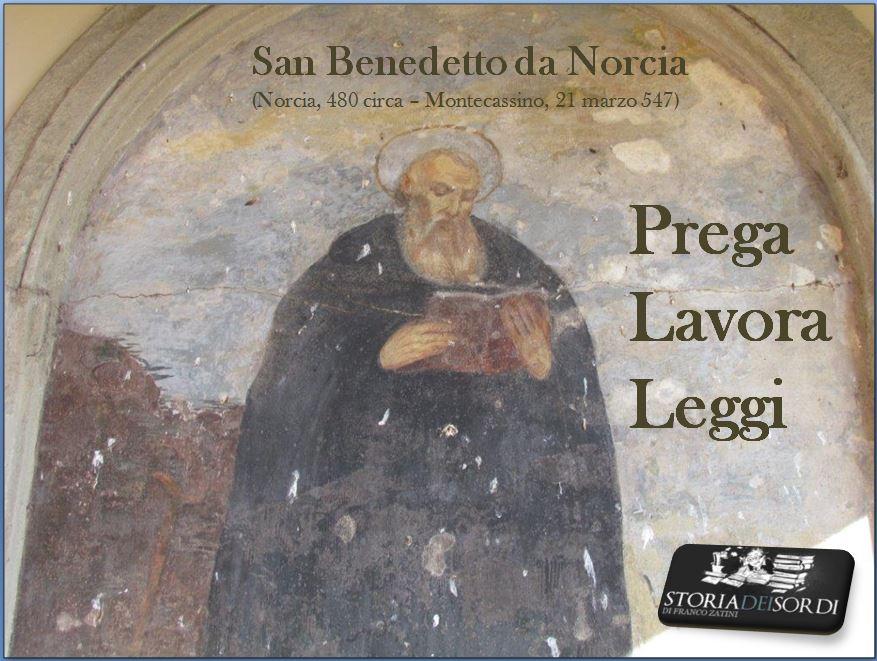 San Benedetto da Norcia (480-547)