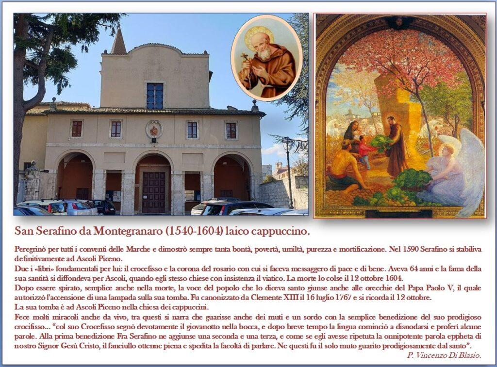 San Serafino da Montegranaro 1540 - 1604