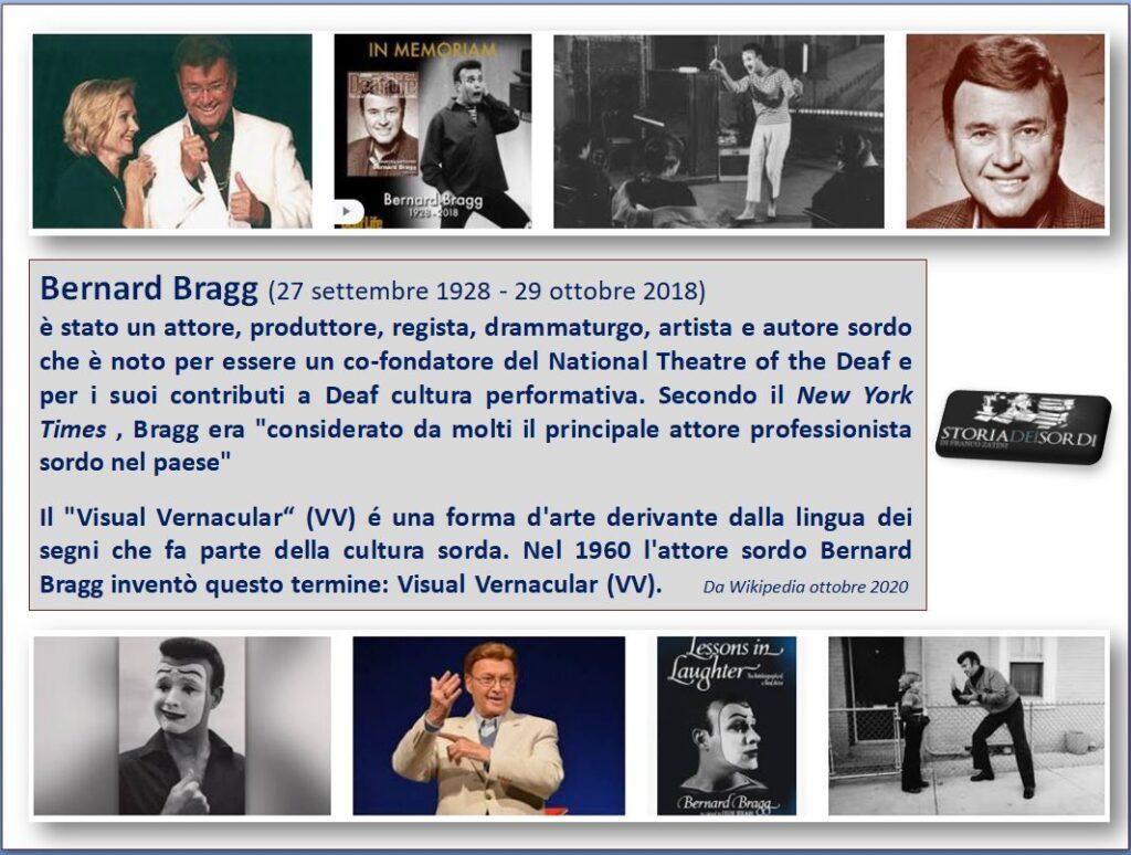 Bragg Bernard 1928-2018
