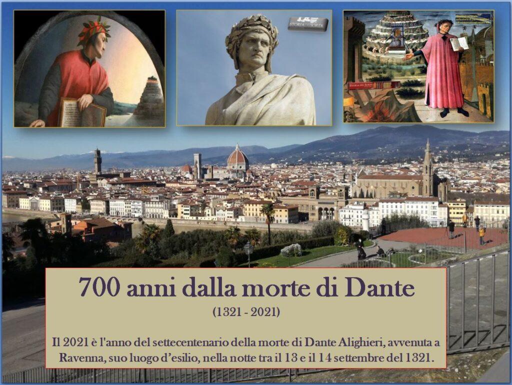 Dante Alighieri 700 anni morte 1321 2021