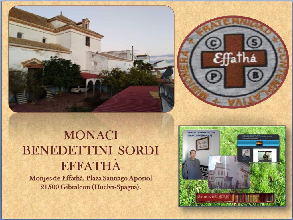 Monaci Benedettini Sordi Effathà