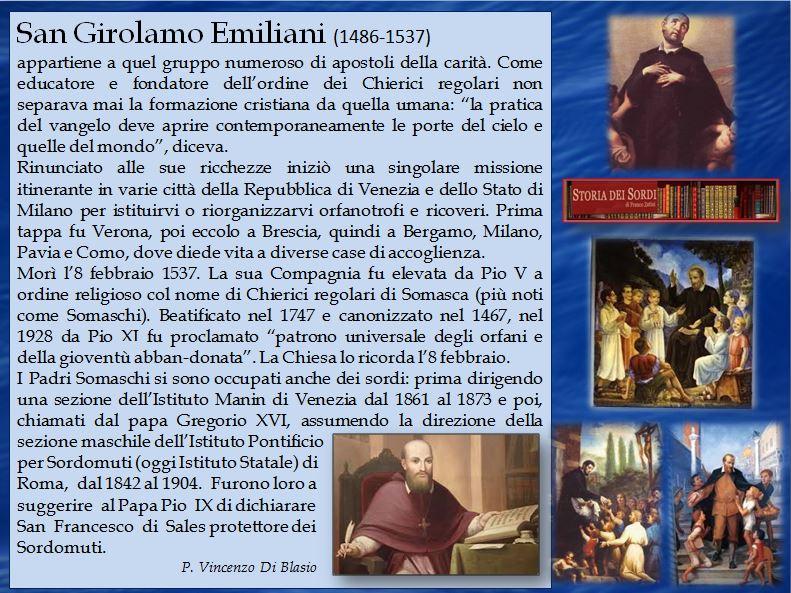 Emiliani Girolamo (Santo)