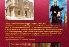 1988 – Centro Filippo Smaldone per audiolesi in Palmi (Reggio Calabria)