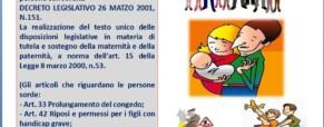 Decreto Legislativo n.151 del 2001 a favore delle persone con sordità