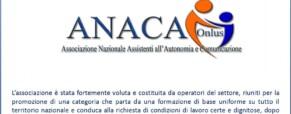 Associazione Nazionale Assistenti all'Autonomia e Comunicazione – ANACA