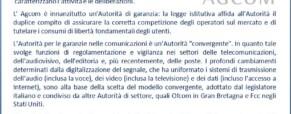 """Il Tar annulla la decisione dell'Agcom: """"sbloccate"""" le chiamate a 144 e affini (Newsletter della Storia dei Sordi n. 620 dell' 8 gennaio 2009)"""