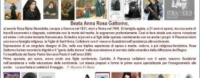 Beata Anna Rosa Gattorno. Educatrice dei sordi