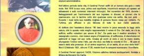 A 90 anni dalla morte ricordiamo il Beato Andrea Carlo Cardinal Ferrari