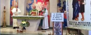 Padre Savino Castiglione, religioso della Piccola Missione per i Sordi, scrive agli amici italiani