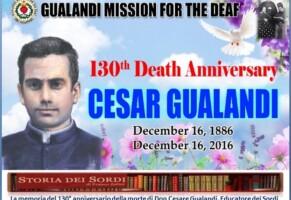 Commemorazione di Don Cesare Gualandi a 130 anni della morte
