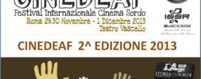 Festival del Cinema Sordo di Roma, Cinedeaf .