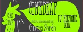 """Rinviato il festival internazionale del cinema sordo, """"non ci sono soldi"""""""