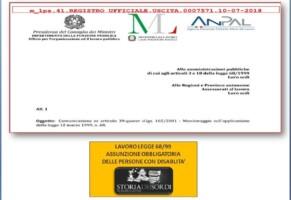 Collocamento obbligatorio, indicazioni per le Pubbliche Amministrazioni