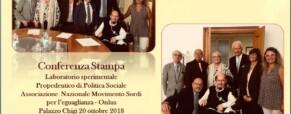 La politica sociale nel mondo dei sordi italiani