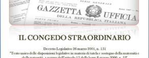 Congedo straordinario Decreto Legislativo 151/01. Soggetti aventi diritto