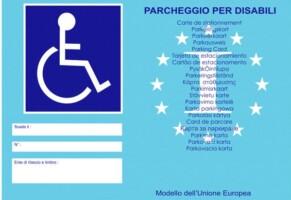 Contrassegno disabili  novità 2020