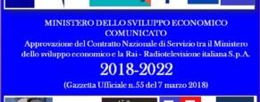 Nuovo contratto Servizio Rai 2018-2022
