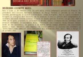 Degérardo Giuseppe Maria. Educatore