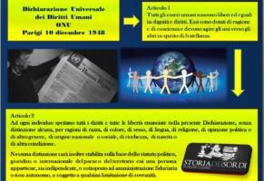 Dichiarazione Universale  dei Diritti Umani ONU