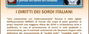 I diritti dei sordi italiani e la legge 104 del 1992.