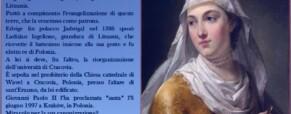 Santa Edvige. Regina di Polonia.