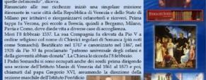 San Girolamo Emiliani ed i Padri Somaschi