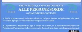 Enel, servizio di comunicazione a favore delle Persone Sorde
