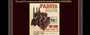 Verso il 75° anniversario della Fondazione E.N.S. (Newsletter della Storia dei Sordi n.306 del 10 settembre 2007)