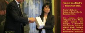 Premio Dea Madre a Stefania Fadda,