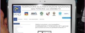 Nuovo sito della Fand. Federazione tra le Associazioni Nazionali dei Disabili