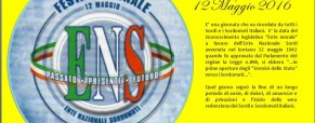 Festa Nazionale dei Sordi Italiani 2016