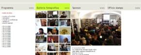 É impressionante il Festival della Scienza di Genova. Non potrei pensare a niente di meglio. (Newsletter della Storia dei Sordi n. 595  del 28 novembre 2008)