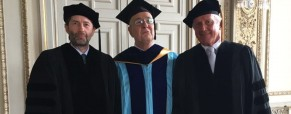 Laurea honoris causa a Roberto Wirth, Presidente CABSS, da John Cabot University