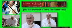 Santo Padre Francesco e gli auguri pontificali in Lingua dei Segni Italiana (Lis)